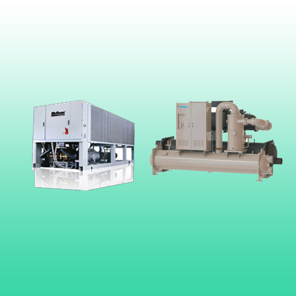 Chiller System - Screw Chillers